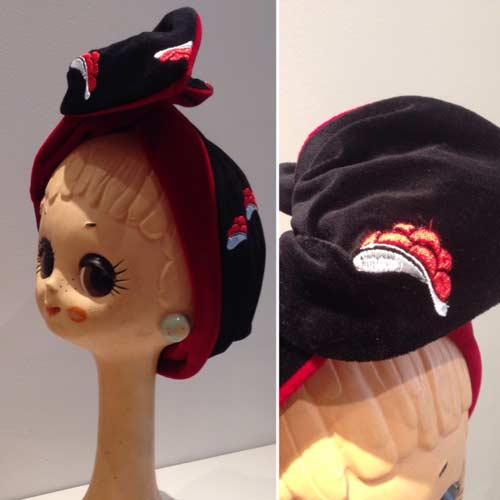 Headscarve mit Schwarzwald Bollenhut