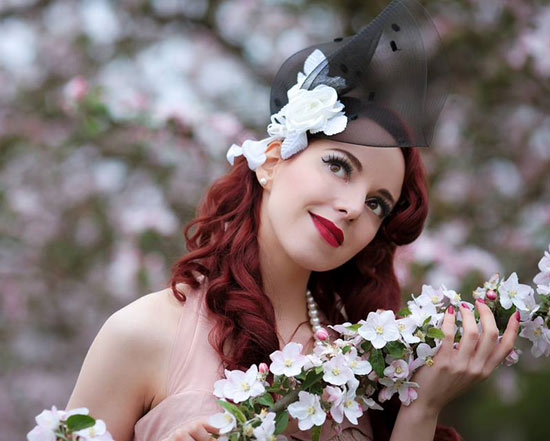 Rina Bambina and Antia Vintage Hatter