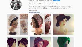 Die Hutmacherin auf Instagram