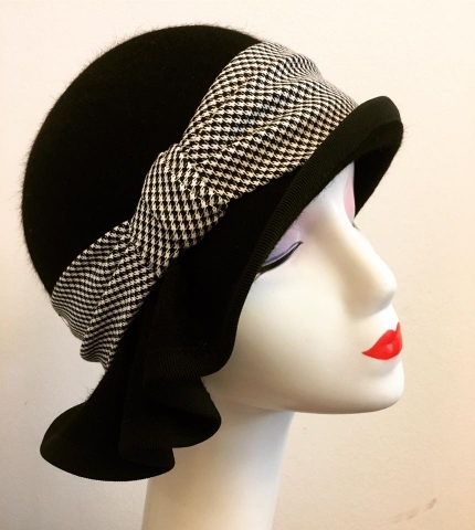 Women's hat Lotte - inspired by hat fashion from the 1920s